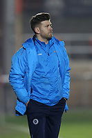Boreham Wood manager Luke Garrard during Dagenham & Redbridge vs Boreham Wood, Vanarama National League Football at the Chigwell Construction Stadium on 9th January 2018
