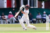 Rory Burns in batting action for Surrey during Surrey CCC vs Essex CCC, Specsavers County Championship Division 1 Cricket at Guildford CC, The Sports Ground on 11th June 2017