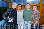 Clare Foran, Hayley and Deirdre Evans and Trish Foran enjoying the evening in Ristorante Uno on Thursday