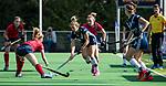AMSTELVEEN  - Gabi Nance (Pin) , hoofdklasse hockeywedstrijd dames Pinole-Laren (1-3). COPYRIGHT  KOEN SUYK