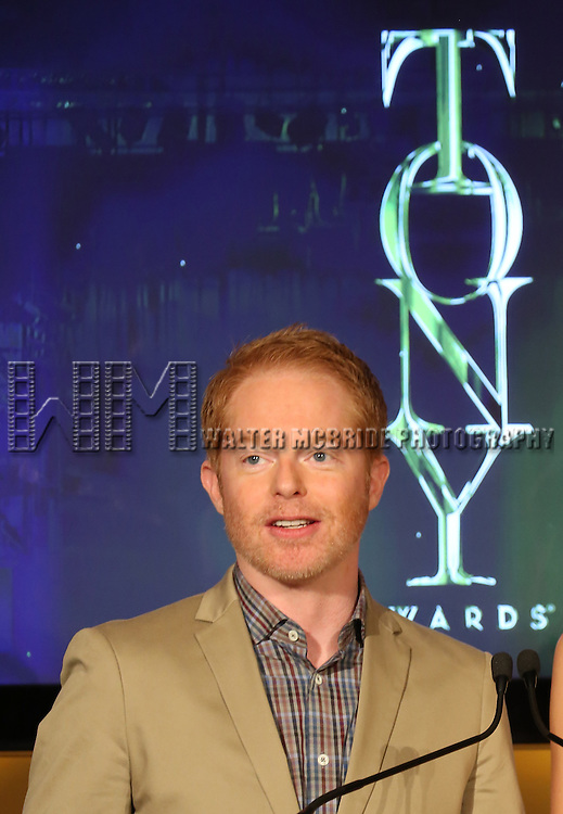 Jesse Tyler Ferguson announces the 2013 Tony Award Nominations at The New York Public Library for Performing Arts in New York on 4/30/2013...