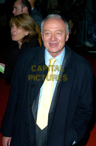 "KEN LIVINGSTONE MP.The Times BFI 51st London Film Festival Screening of ""Lust, Caution"", Odeon West End, London, England, .October 20th 2007. .half length yellow tie Mayor suit.CAP/CAN.©Can Nguyen/Capital Pictures"