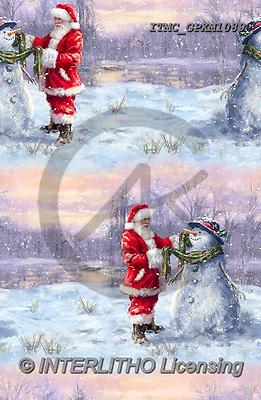 Marcello, GIFT WRAPS, GESCHENKPAPIER, PAPEL DE REGALO, Christmas Santa, Snowman, Weihnachtsmänner, Schneemänner, Papá Noel, muñecos de nieve, paintings+++++,ITMCGPXM1089,#GP#,#X#