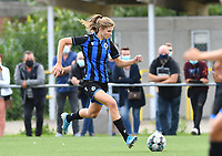 Brugge's Marie Minnaert pictured during a female soccer game between Club Brugge Dames YLA and Racing Genk Ladies on the second matchday of the 2020 - 2021 season of Belgian Scooore Women s SuperLeague , saturday 5 th of September 2020  in Brugge , Belgium . PHOTO SPORTPIX.BE   SPP   DAVID CATRY