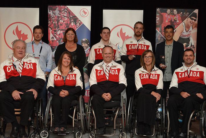 Sept 19, 2014 – Canadian Paralympic 2014 Sport Awards (Photo: Charles Gordon/Canadian Paralympic Committee)