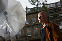 Irving Welsh, author   and writer  at The Edinburgh International Book Festival   . Credit Geraint Lewis