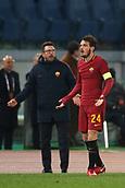1st December 2017, Stadio Olimpico, Rome, Italy; Serie A football. AS Roma versus Spal;  EUSEBIO DI FRANCESCO and ALESSANDRO FLORENZI Roma