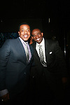 Actor Russell Hornsby and Former NFL Player Deion Sanders Attend Tennessee Williams A Streetcar Named Desire Opening Night Party Held at the Copacabana, NY   4/22/12