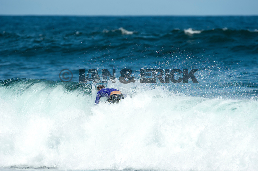 Luke Stedman at Gallows near Gracetown in Western Australia.