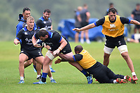 James Phillips of Bath Rugby in action. Bath Rugby pre-season training session on August 9, 2017 at Farleigh House in Bath, England. Photo by: Patrick Khachfe / Onside Images