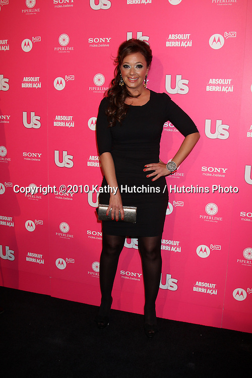 Leah Remini.arrives at the US Weekly Hot Hollywood Party 2010.Drai's at the W Hotel Hollywood.Los Angeles, CA.April 22, 2010.©2010 Kathy Hutchins / Hutchins Photo...