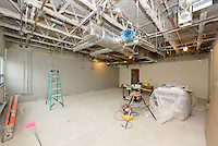 Central High School Bridgeport CT Expansion & Renovate as New. State of CT Project # 015-0174. One of 80 Photographs of Progress Submission 15, 05 May 2016 Upper Level Part A Rehabilitation