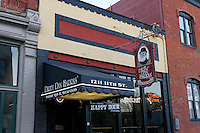 Dirty Dan Harris' restaurant in Fairhaven historical district, Bellingham, Washington state, USA