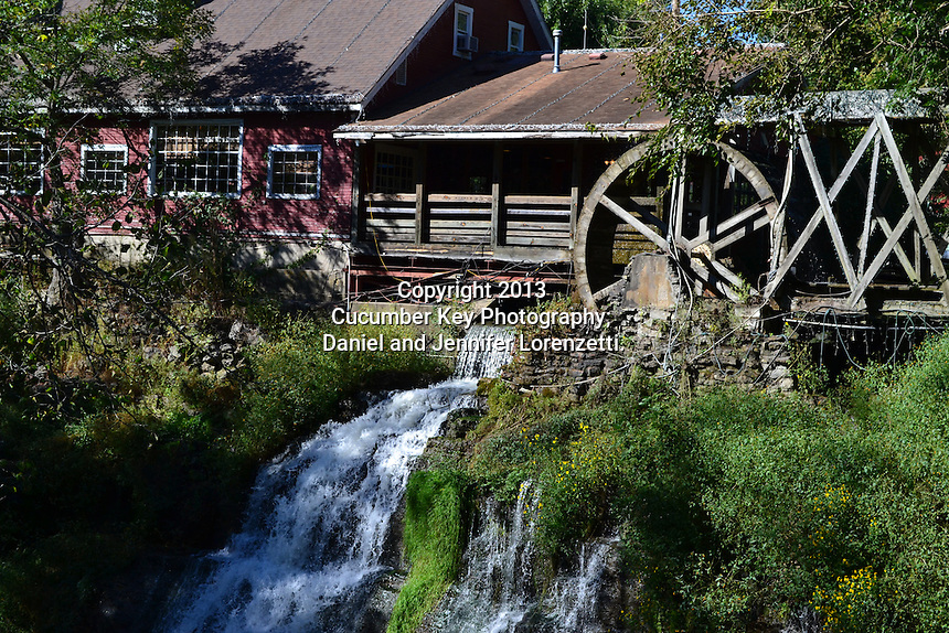 The waterwheel at Clifton Mill in Ohio.