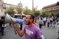 Roma 10 Ottobre 2009.Manifestazione nazionale  contro l'Omofobia.Rome, October 10, 2009.The national demonstration against homophobia.