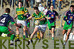 Paul Geaney Kerry v Paddy Dalton and Noel Brady Limerick Institute Technology in the Quarter Final of the McGrath Cup at Austin Stack Park, Tralee on Sunday 16th January.