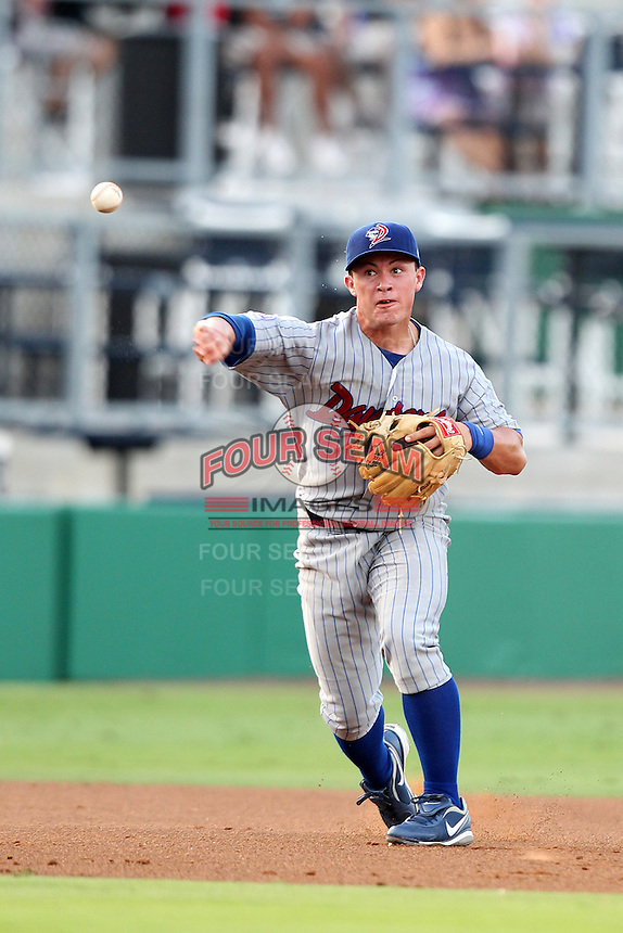 Daytona Cubs Matthew Cerda #2 during a game against the Clearwater Threshers at Brighthouse Stadium on June 23, 2011 in Clearwater, Florida.  Clearwater defeated Daytona 6-5.  (Mike Janes/Four Seam Images)