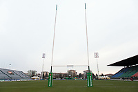 A general view of the Municipal Stadium of Monigo prior to the match. European Rugby Champions Cup match, between Benetton Rugby and Bath Rugby on January 20, 2018 at the Municipal Stadium of Monigo in Treviso, Italy. Photo by: Patrick Khachfe / Onside Images