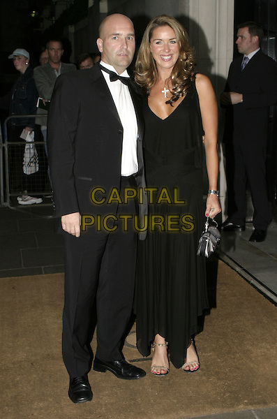 CLAIRE SWENEY.Carol Keating Memorial Dinner, London, October 4th 2004..full length Clare black dress.Ref: AH.www.capitalpictures.com.sales@capitalpictures.com.©Capital Pictures.