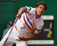 11-07-13, Netherlands, Scheveningen,  Mets, Tennis, Sport1 Open, day four,Jesse Huta Galung (NED)<br /> <br /> <br /> Photo: Henk Koster
