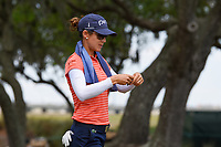 Azahara Munoz (ESP) heads down 5 during round 3 of the 2019 US Women's Open, Charleston Country Club, Charleston, South Carolina,  USA. 6/1/2019.<br /> Picture: Golffile | Ken Murray<br /> <br /> All photo usage must carry mandatory copyright credit (© Golffile | Ken Murray)
