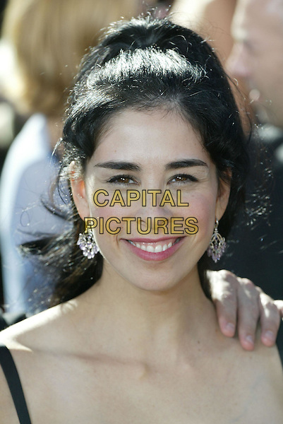 SARAH SILVERMAN.At the 56th Annual Prime Time Emmy Awards held the Shrine Auditorium, Los Angeles, CA, USA, .19th September, 2004..portrait headshot .Ref: ADM.www.capitalpictures.com.sales@capitalpictures.com.©Charles Harris/AdMedia/Capital Pictures .