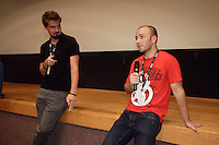 Montreal QC CANADA - July 26 2011 - Fantasia Film Festival -  Adam Wingard, Director, An Horrible Way to Die (L)), Simon Barret, Writer-Producer (R)