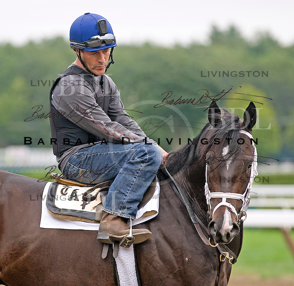 Thiscatismine (2008, Mineshaft-Catinca, by Storm Cat) and Gary Stevens.