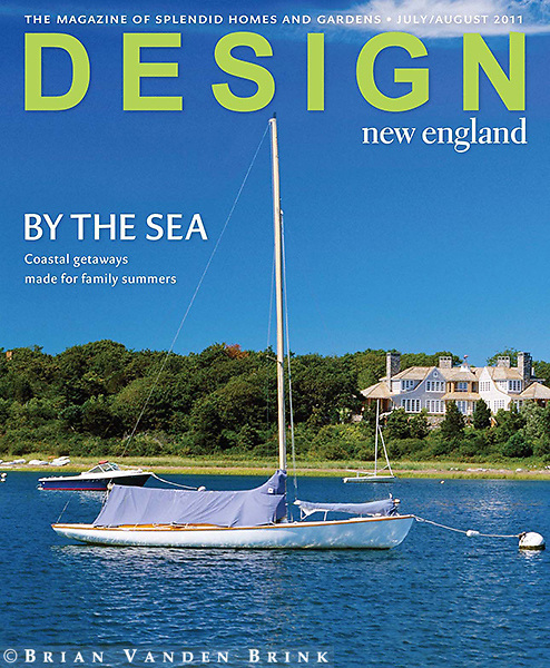 Design New England July-August 2011 Cover