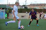 FC Barcelona vs Montpellier HSC: 1-2.<br /> Stina Blackstenius vs Andrea Pereira.