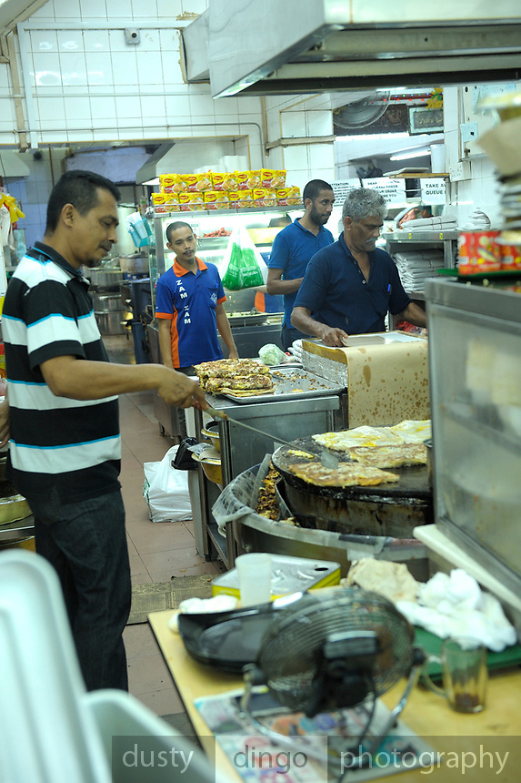 The famous Zam Zam restaurant opposite the Sultan Mosque, Singapore