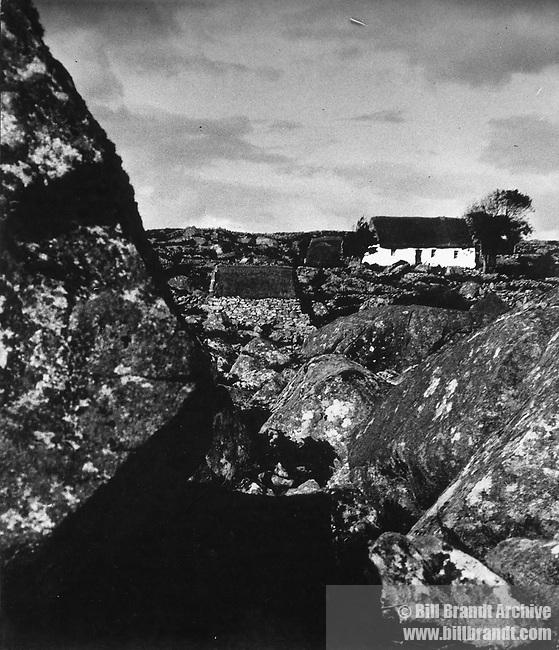 Connemara peasant houses 1940s