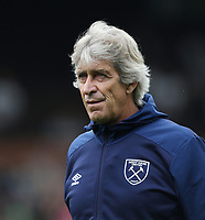West Ham United manager Manuel Pellegrini <br /> <br /> Photographer Rob Newell/CameraSport<br /> <br /> Football Pre-Season Friendly - Fulham v West Ham United - Saturday July 27th 2019 - Craven Cottage - London<br /> <br /> World Copyright © 2019 CameraSport. All rights reserved. 43 Linden Ave. Countesthorpe. Leicester. England. LE8 5PG - Tel: +44 (0) 116 277 4147 - admin@camerasport.com - www.camerasport.com