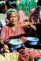 Friday is market day for the mostly Mayan people of Solola, Guatemala, and surounding villages..Photograph by Peter E. Randall