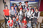 Portmagee Pirates preparing to plunder at the Fáilte Ireland presentation to Irelands Tourism Town on Friday night last pictured front l-r; Niamh Moran, David Kennedy, Sarah Coffey, Liam Conway, Chloe Wallace, Kate Conway, middle l-r; Stephen Keating, Keith Brennan, Clodagh Coffey, Charlotte Hulme, Noah Diosee, Dylan Hulme, Niamh Dennehy, Jonathan Gross, Sean Kennedy, Riona Moran, Lotta Gross, back l-r; Myra Hulme, Ciarán Dennehy & Brian O'Sullivan.