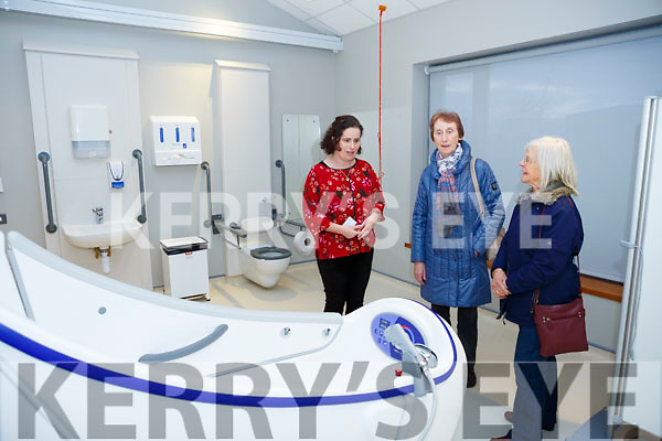 At the Kerry Hospice Foundation and HSE open day people to view the New In Patient Unit on Friday Eilish Herlihy (Nurse manager), Mary Slattery and Anna Beardsworth