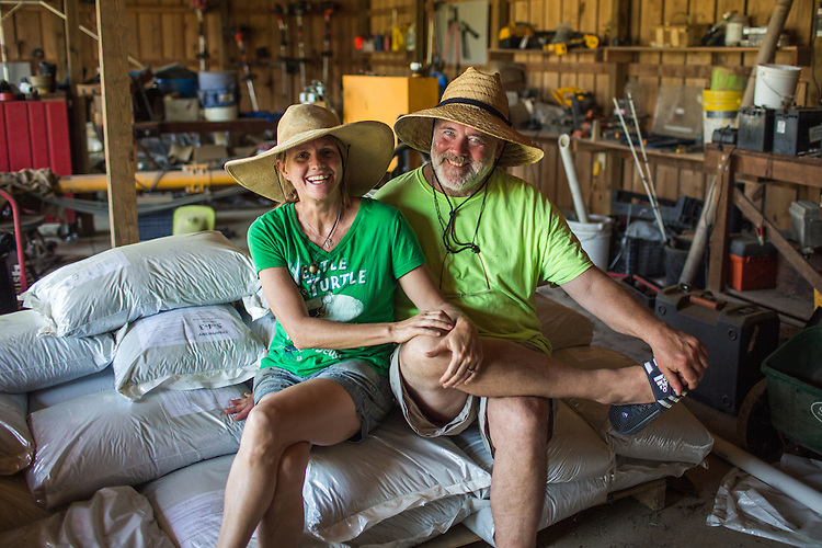 Cheri Whitted Bowers and Rob Bowers operate the Whitted Bowers Farm in Cedar Grove, NC. The farm is certified organic and biodynamic. They will be producing approximately 15,000 pounds of Bellstar tomatoes for the Raleigh-based company Nello's Sauce.