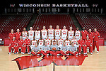 MADISON, WI - OCTOBER 24: The Wisconsin Badgers men's basketball team poses for their 2006-07 team photo at the Kohl Center on October 24, 2006 in Madison, Wisconsin. (Photo by David Stluka)