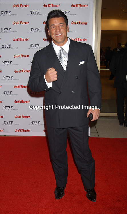 """Chuck Zito                                 ..arriving at the opening of the 41st New York Film Festival ..screening of """" Mystic River"""" on October 3, 2003 in New York City. Photo By Robin Platzer, Twin Images"""