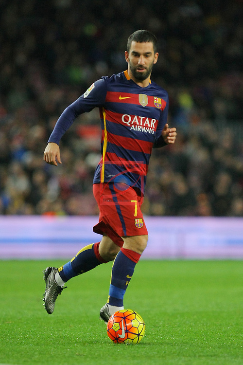 League BBVA 2015/2016 -Game: 20.<br /> FC Barcelona vs Athletic Club: 6-0.<br /> Arda Turan.