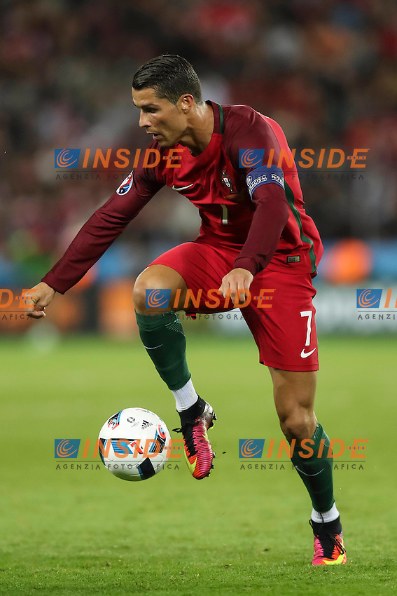 Cristiano Ronaldo<br /> Paris 18-06-2016 Parc Des Princes Football Euro2016 Portugal - Austria / Portogallo - Austria Group Stage Group F. Foto Daniel Chsterton / Panoramic / Insidefoto