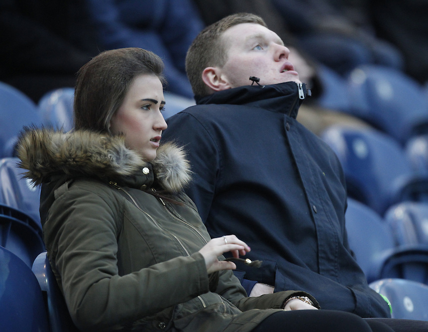 Preston North End's Fans<br /> <br /> Photographer Mick Walker/CameraSport<br /> <br /> Football - The FA Cup Fourth Round - Preston North End v Sheffield United - Saturday 24th January 2015 - Deepdale - Preston <br /> <br /> &copy; CameraSport - 43 Linden Ave. Countesthorpe. Leicester. England. LE8 5PG - Tel: +44 (0) 116 277 4147 - admin@camerasport.com - www.camerasport.com