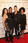 Soledad O'Brien, Deborah Koenigsberger, Tamara Tunie and Rhonda Ross Attend Hearts of Gold's 16th Annual Fall Fundraising Gala & Fashion Show Held at the Metropolitan Pavilion, NY 11/16/12