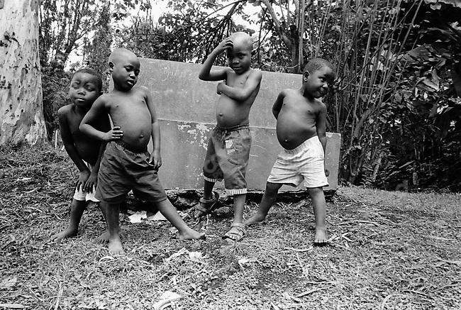 Orphans of the 1994 Rwandan genocide, Rwanda, 2002.