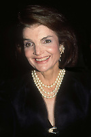 #JacquelineKennedyOnassis 1988<br /> Photo By Adam Scull/PHOTOlink.net