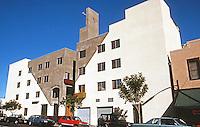 San Diego: SRO (Baltic Inn), Downtown SD, 1987.  Rob Quigley, Arch.  Photo 1992.