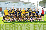 The Dr Crokes team that played Valentia in Division 5 of the County league on Sunday