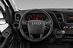 Car pictures of steering wheel view of a 2018 Iveco Daily 35S 4 Door Cargo Van Steering Wheel