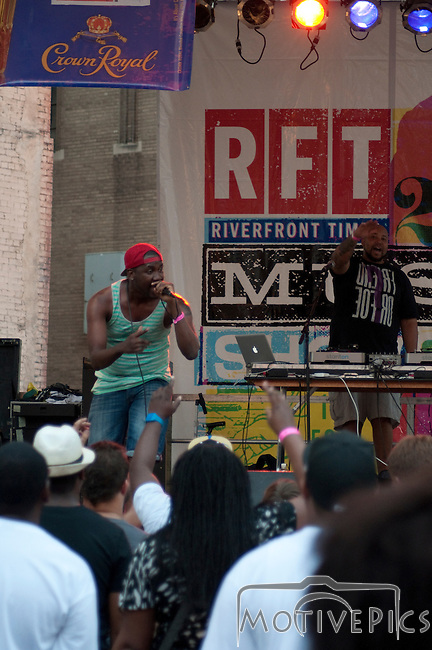 Tef Poe plays RFT Music Showcase on the outdoor stage, 2011.