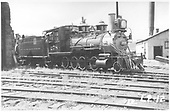 3/4 engineer's-side view of D&amp;RGW #278 at Gunnison (?).  What is that big stack on the right side?<br /> D&amp;RGW  Gunnison ?, CO  Taken by Rogers, Donald E. A. - 1935